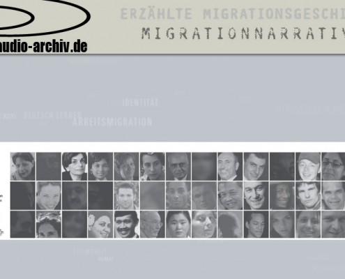 Audioarchiv zu Migrationsgeschichten