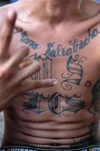 Tattoo Mara Salvatrucha MS13