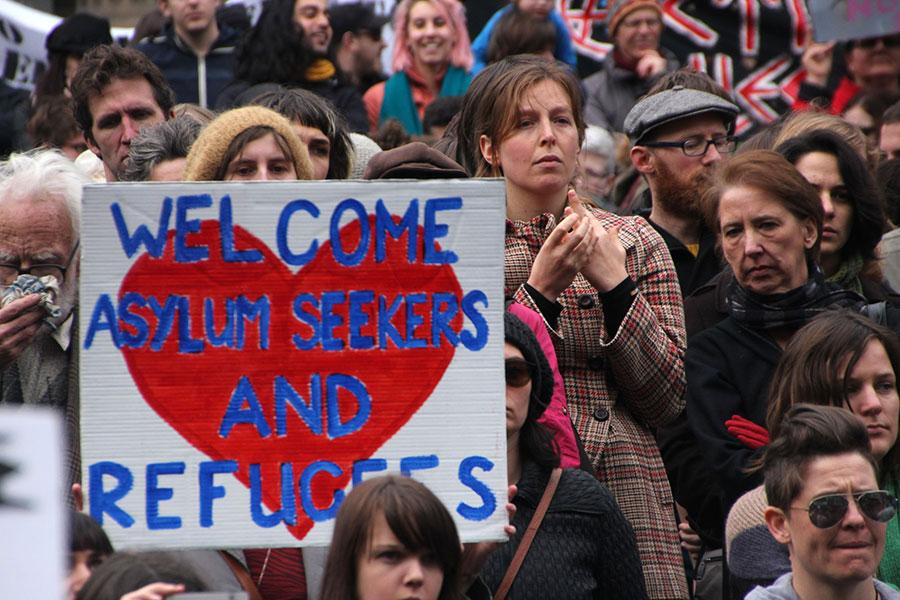 Protest gegen die Asylpolitik Australiens, 2013 © Takver, CC BY-SA 2.0, flickr.com