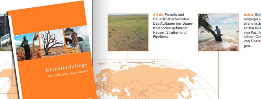 Greenpeace-Broschüre zur Klimaflucht