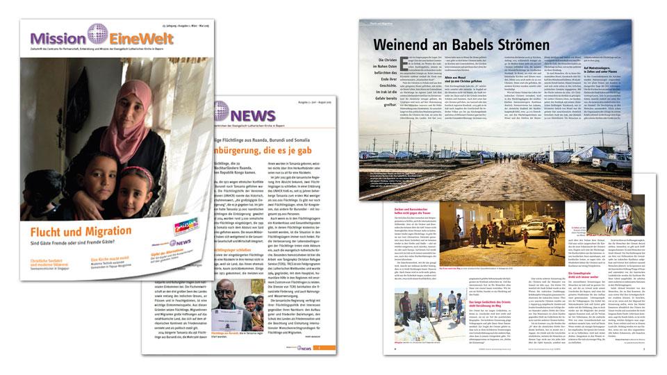 Zeitschriftenausgabe zu Flucht und Migration